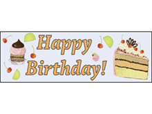 Picture of Happy Birthday Banner (HB2B#001)