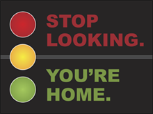Picture of Stop Looking You're Home Yard Sign (SLYHYS#002)