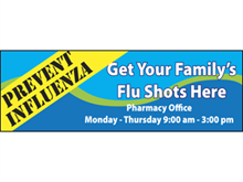 Picture of Family Flu Shots Banner (FFSB#001)