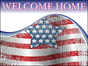 Picture of Welcome Home Yard Sign (WH2YS#002)