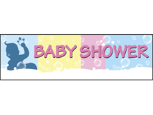 Picture of Baby Shower Banner (BS4B#001)