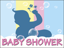 Picture of Baby Shower Yard Sign (BS4S#002)