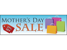 Picture of Mother's Day Sale Banner (MDSB#001)