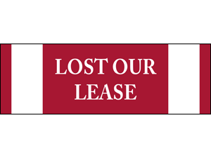 Picture of Lost Our Lease Banner (LOLB#001)