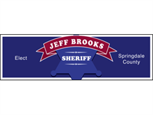 Picture of Elect Sheriff Banner (ESB#001)