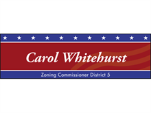 Picture of Zoning Commissioner Banner (ZC2B#001)