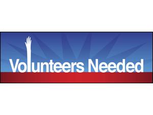 Picture of Volunteers Needed Banner (VNDB#001)