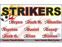 Picture of Strikers Soccer  Banner (S2SB#001)