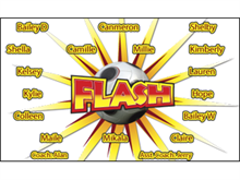Picture of Flash Soccer Banner (FSB#001)
