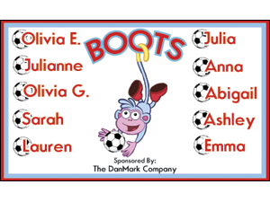 Picture of Boots Soccer  Banner (BS2SB#001)