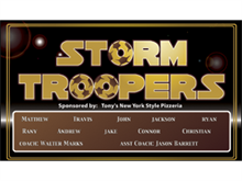 Picture of Storm Troopers Soccer Banner (STSB#001)
