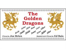 Picture of The Golden Dragons Soccer Banner (FGDSB#001)