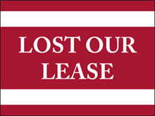 Picture of Lost Our Lease Yard Sign (LOLYS#002)