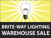 Picture of Warehouse Sale Yard Sign (WS3YS#002)