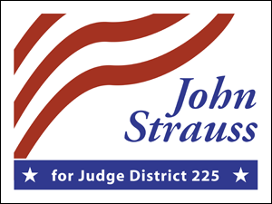 Picture of  Judge Yard Sign (J4YS#002)