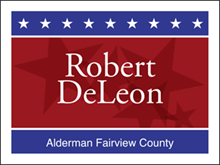 Picture of Alderman Yard Sign (A2YS#002)