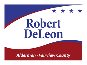 Picture of Alderman Yard Sign (A3YS#002)