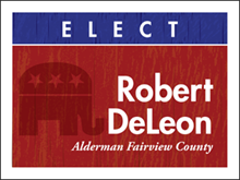 Picture of Elect Yard Sign (E5YS#002)