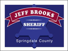 Picture of Elect Sheriff Yard Sign (ES3YS#002)