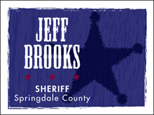 Picture of Elect Sheriff Yard Sign (ES4YS#002)