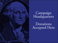 Picture of Campaign Headquarters Yard Sign (CHQYS#002)