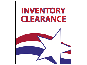 Picture of Inventory Clearance Poster (ICP#011)