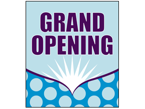 Picture of Grand Opening Poster (GOP#011)