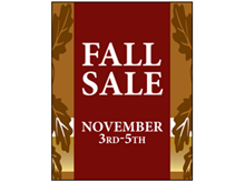 Picture of Fall Sale Poster (FSP#011)