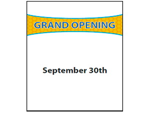 Picture of Grand Opening  Poster (GO2P#011)