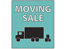 Picture of Moving Sale Poster (MS2P#011)