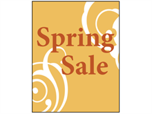 Picture of Spring Sale Poster (SS4P#011)
