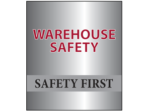 Picture of Warehouse Safety Poster (WS4P#011)