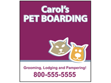 Picture of Pet Boarding Poster (PBP#011)
