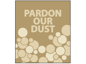 Picture of Pardon Our Dust Poster (PODP#011)