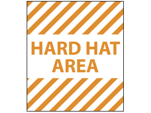 Picture of Hard Hat Area Poster (HHAP#011)