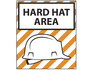 Picture of Hard Hat Area Poster (HHA2P#011)