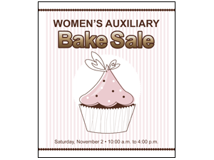 Picture of Bake Sale Poster (BSP#011)