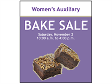 Picture of Bake Sale Poster (BS2P#011)