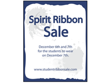 Picture of Spirit Ribbon Sale Poster (SRSP#011)