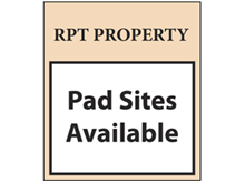 Picture of Pad Site Available Poster (PSA4P#011)