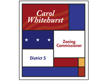 Picture of Zoning Commissioner Poster (ZCP#011)