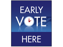 Picture of Early Vote Poster (EV2P#011)
